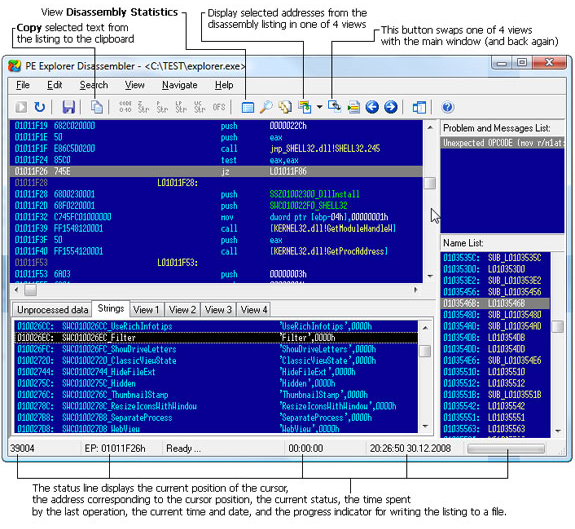 Get PE Explorer to View, Edit, and Reverse Engineer EXE and DLL Files