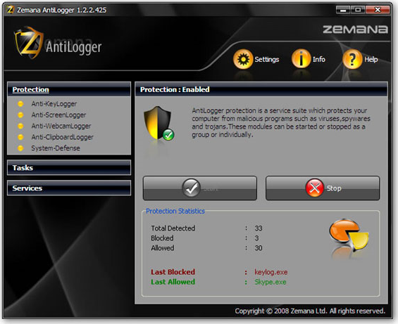Get Zemana AntiLogger to Keep Your Private Data Private