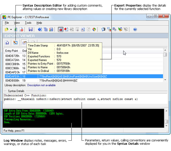 Get PE Explorer to View, Edit, and Reverse Engineer EXE and