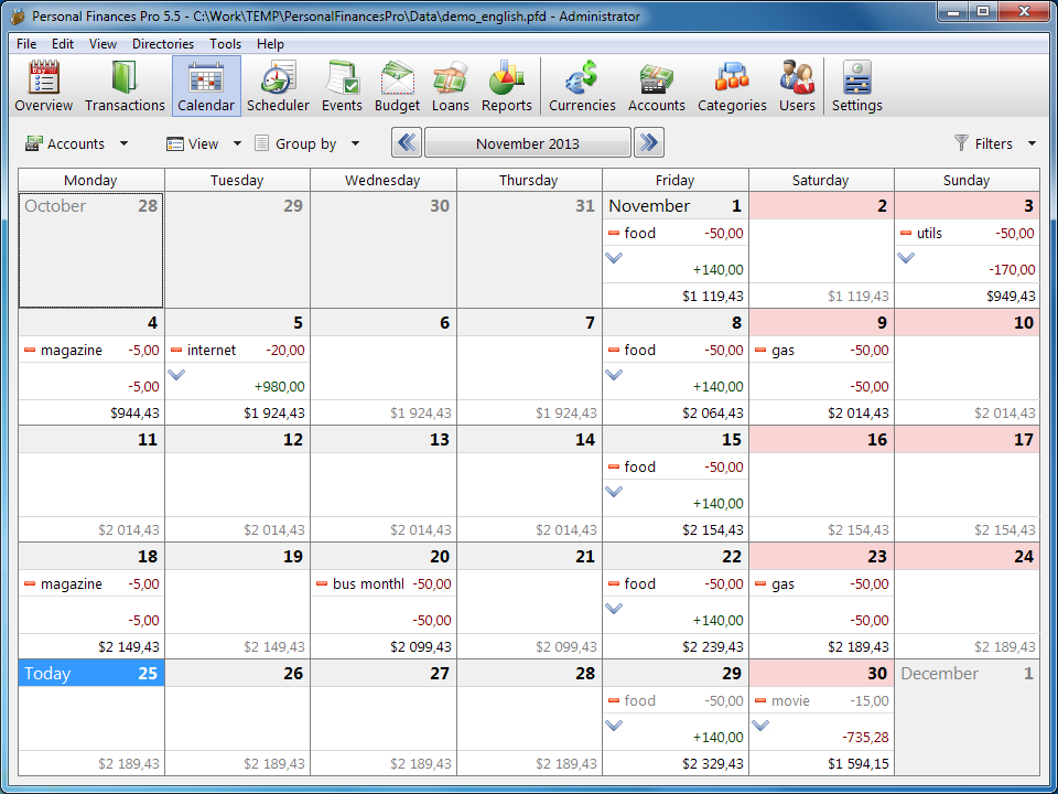Get Personal Finances Pro to Keep Better Track of Your Money