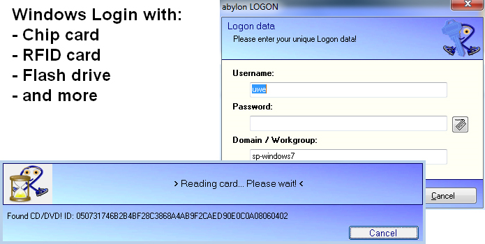 20% Off to Get abylon LOGON to Control Computer Login with a Physical Key