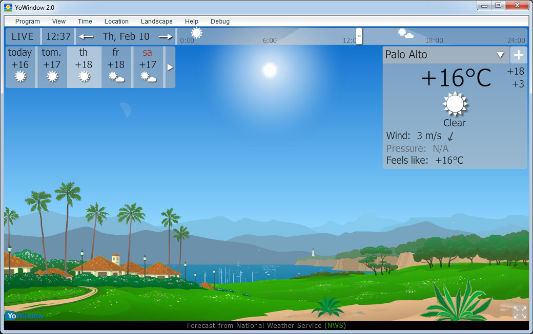 Get yowindow A Fun Way to See the Weather