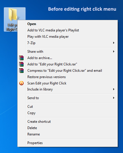 Get Right Click Enhancer to Take Control over Your Right Click Menu
