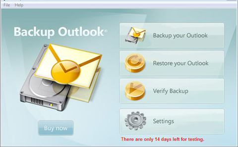 20% Off to Get BackupOutlook to Backup All Your Outlook Data and Settings