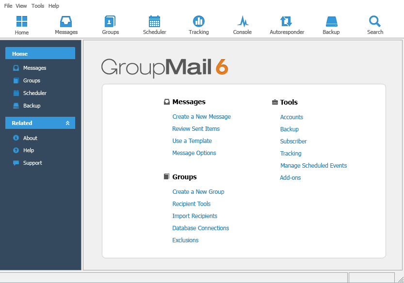 Get GroupMail Personal Edition to Maintain, Manage and Grow Your Email Lists