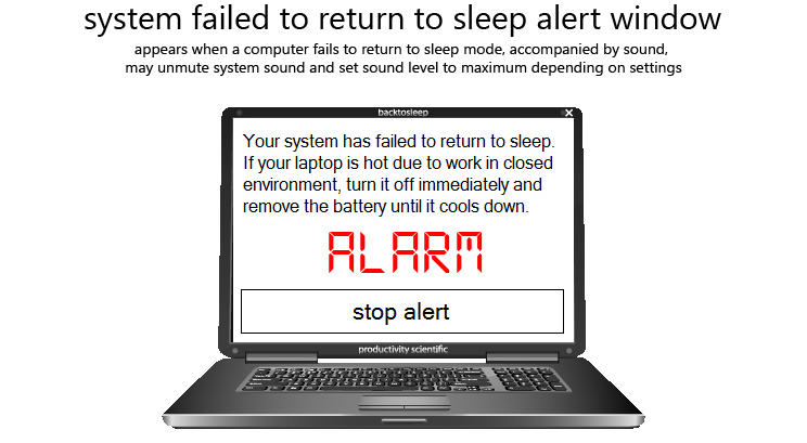 40% Off to Get BackToSleep to Never Wake Your Laptop by Accident Again