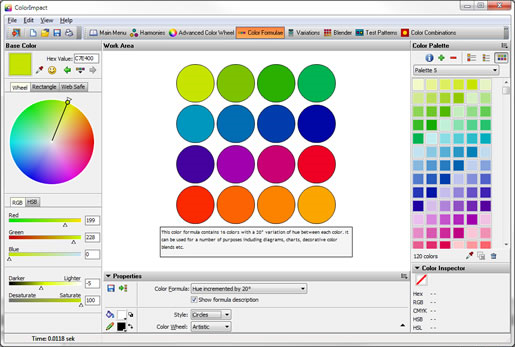 Get ColorImpact to Create Beautiful Color Schemes at the Click of a Button