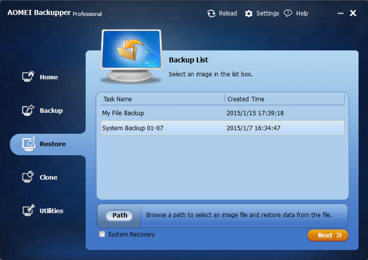 Get AOMEI Backupper Pro Complete Windows Computer Backup Software for PC and Laptop Workstations
