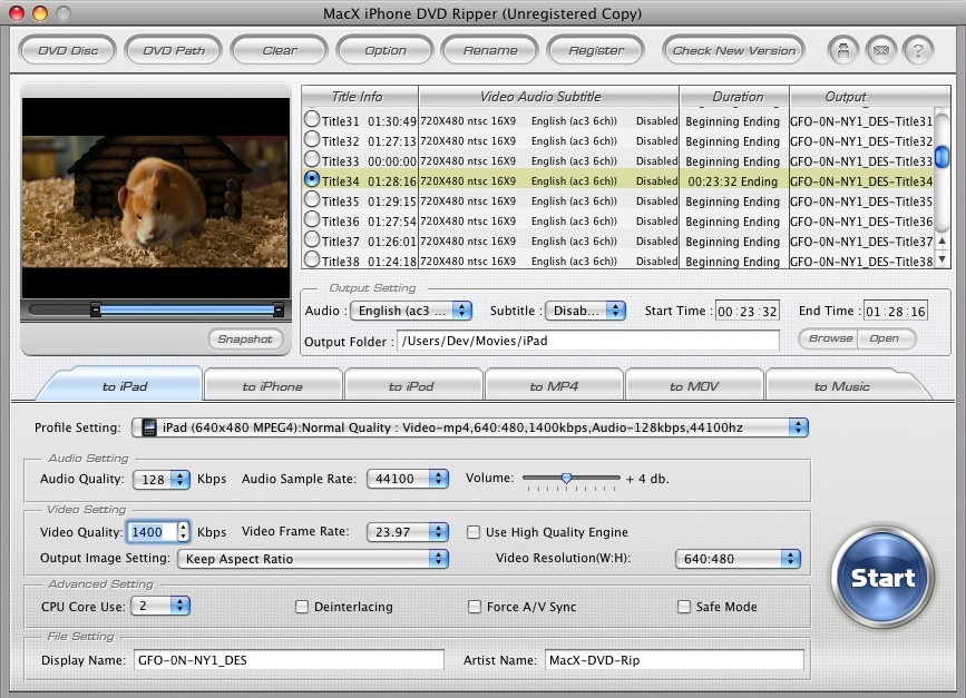 50% Off to Get MacX iPhone DVD Ripper for Mac DVD Ripper for Mac, Convert DVDs to MP4