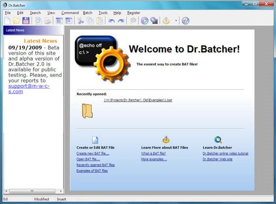 20% Off to Get Dr.Batcher to Create and Edit Your Own Batch Files