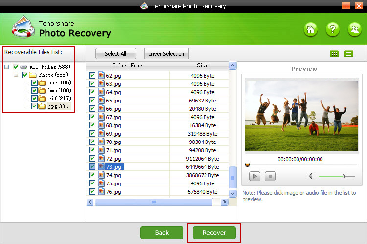 Get Tenorshare Photo Recovery to Recover Lost Photos from Any Storage Device