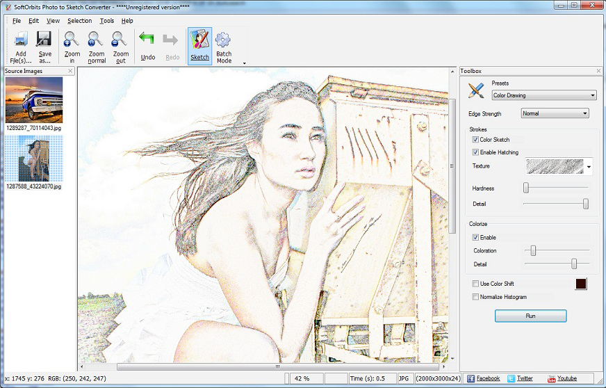 Get Sketch Drawer to Transform Photos into Pencil Sketches