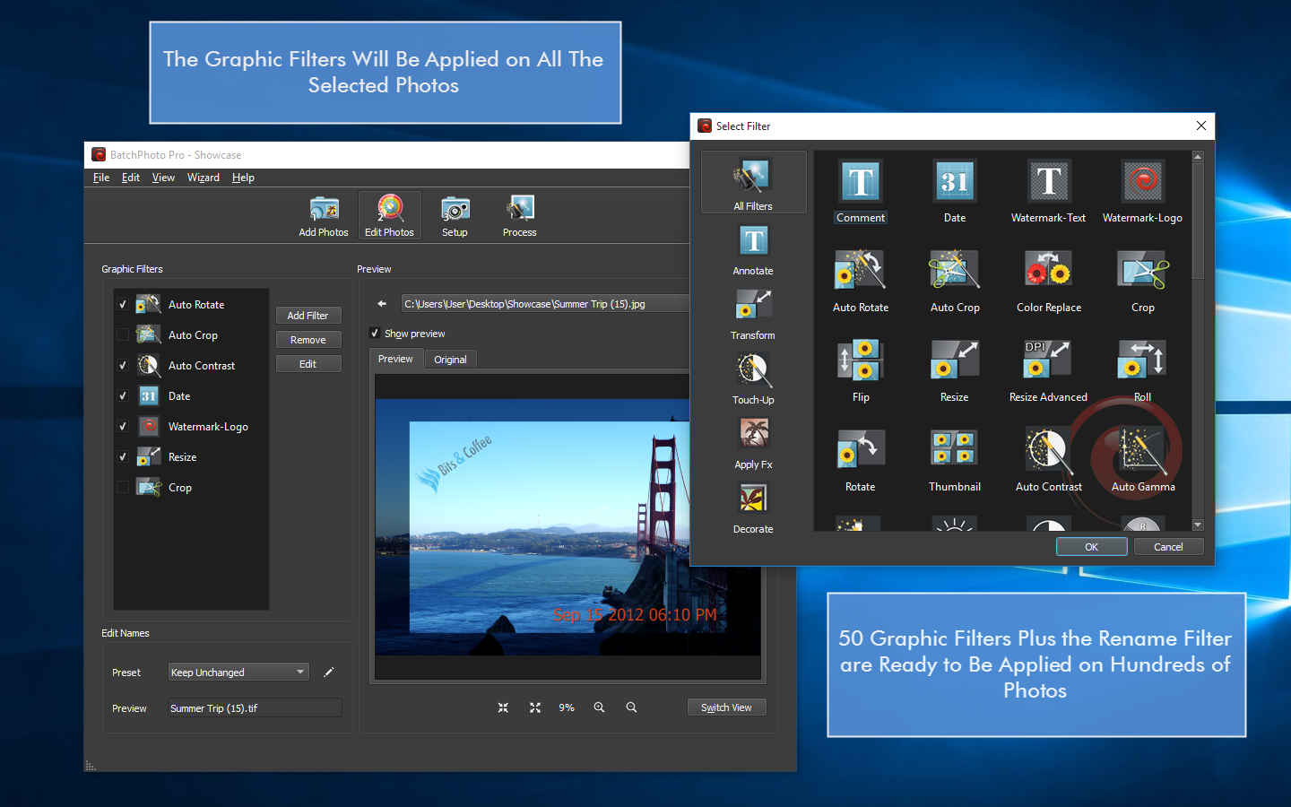 Get BatchPhoto Pro The Fastest Photo Editor
