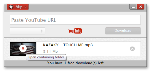 Get Airy YouTube Downloader to Download Videos from YouTube for Offline Viewing