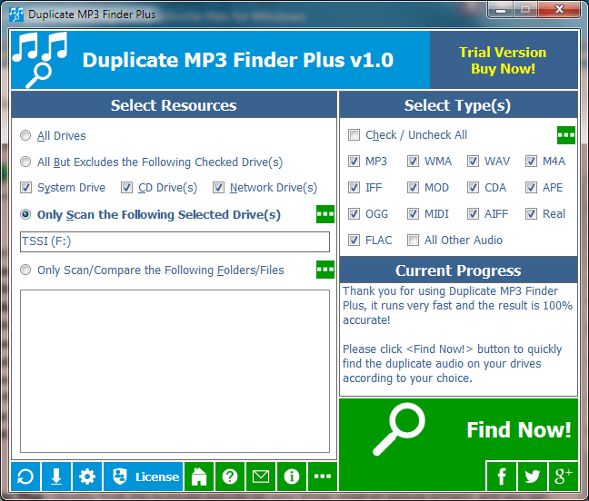 5% Off to Get Duplicate MP3 Finder Plus to Identify Duplicate MP3s Based on Content