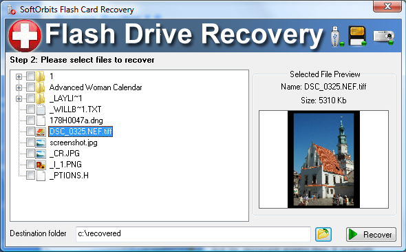 Get Flash Drive Recovery to Recover Files from Damaged Flash Storage
