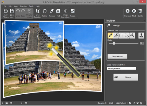 Get Simple Photo Editor to Remove Unwanted Elements and Touch Up Photos
