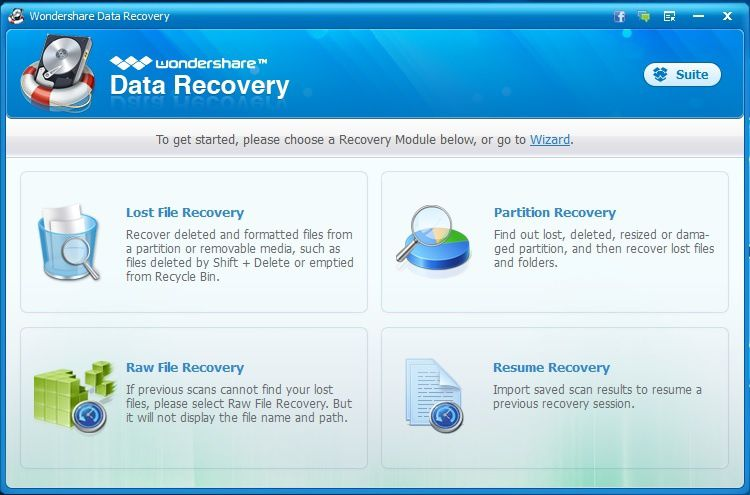 Recover Deleted Files from Computer with Wondershare Data Recovery Software