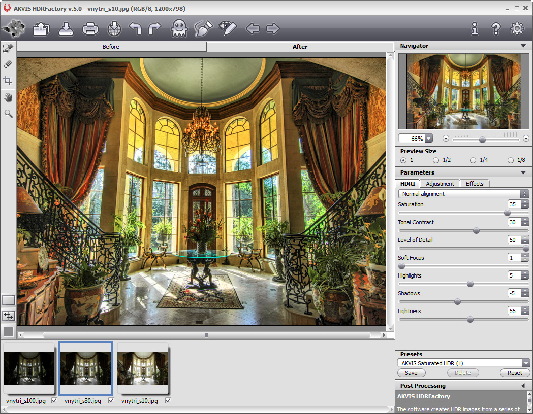 Get AKVIS HDRFactory to Create Awesome HDR Photos