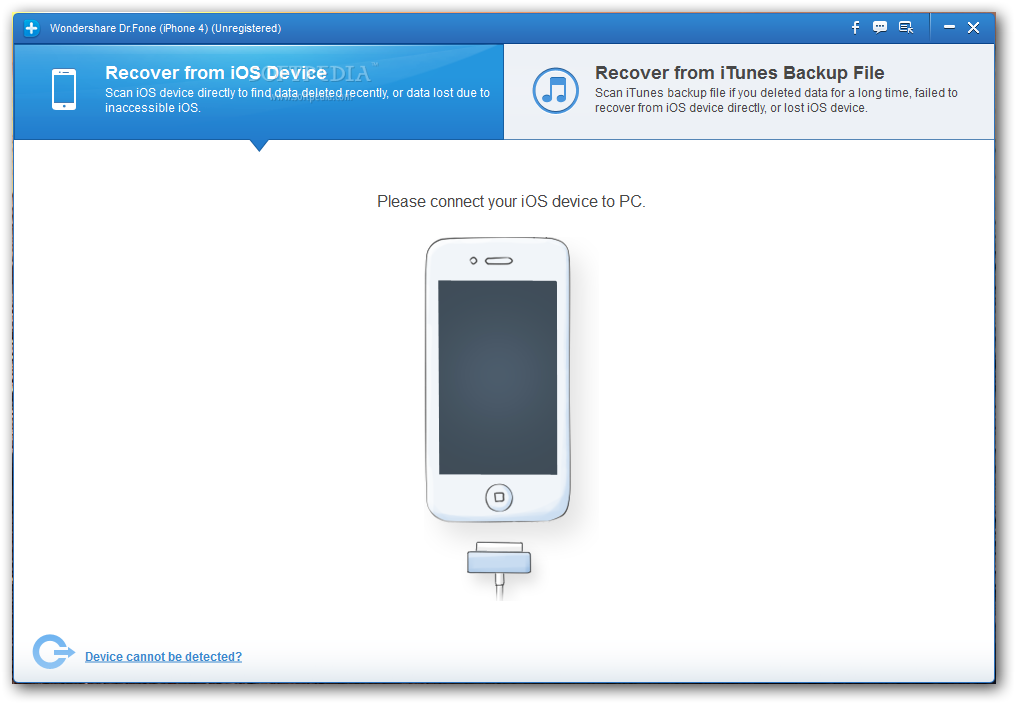 Recover all your deleted data on your iPhone with Data Recovery for iOS