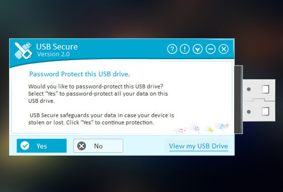 Get USB Secure to Secure Your Portable Drives With a Click