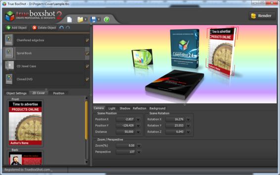 Get True BoxShot to Create Professional 3D Box Shots