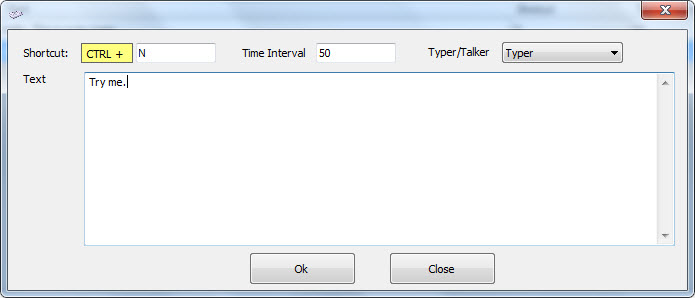 Get Smart Auto Typer and Talker to Automatically Insert Text Using Hotkeys