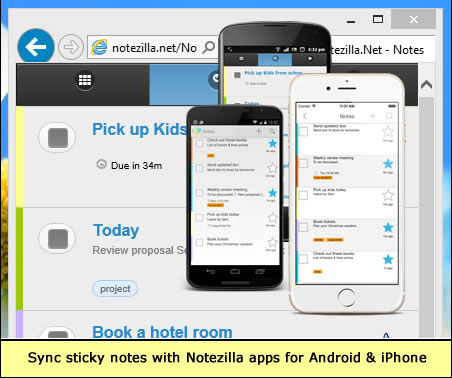 Get Notezilla 8 to Add Electronic Sticky Notes Everywhere