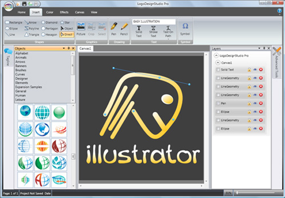 Get Logo Design Studio Pro Vector to Create Professional Logos and Designs