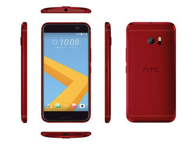 HTC is now selling the gold and red HTC 10 in the U.S.