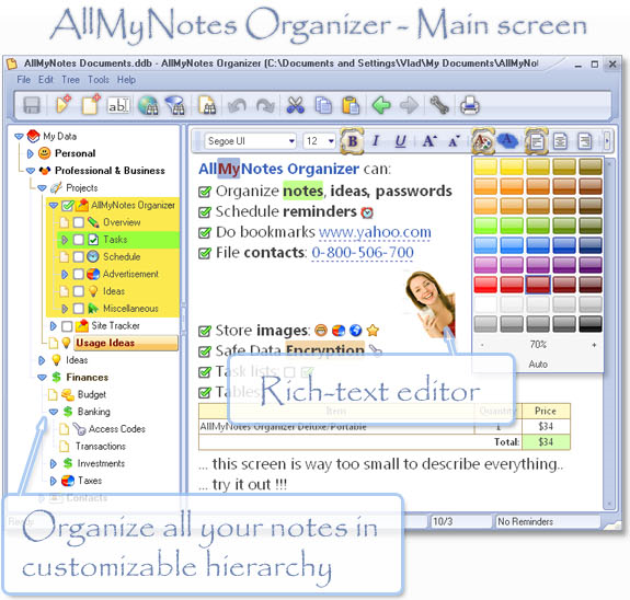 30% Off to Get AllMyNotes Organizer to Make Your Notes Secure and Searchable