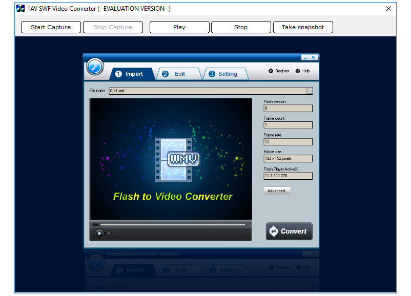 40% Off to Get 1AV SWF Video Converter to Convert SWF Content to Multiple File Formats
