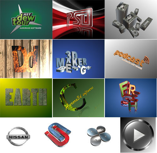40% Off to Get Aurora 3D Text &amp&#x3B; Logo Maker to Quickly Create Three-Dimensional Images