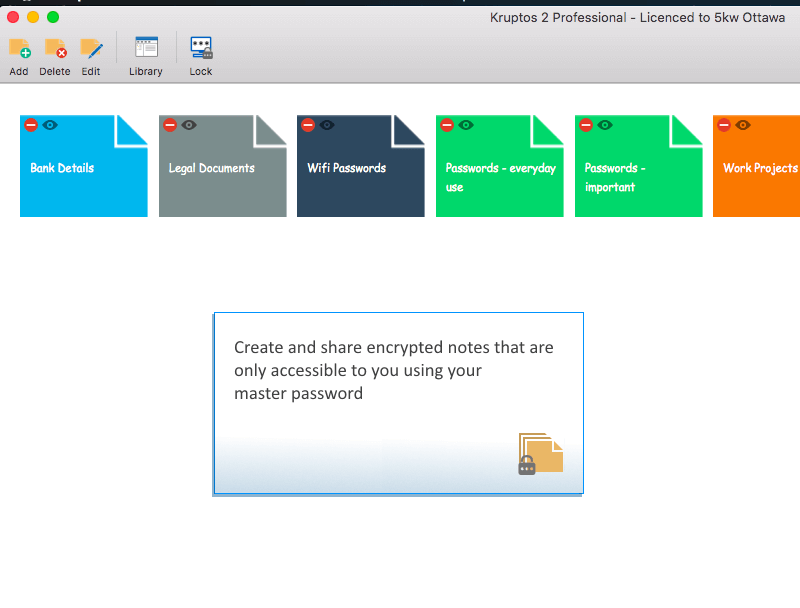50% Off to get Kruptos 2 Professional for Mac to Lock Your Most Sensitive Files
