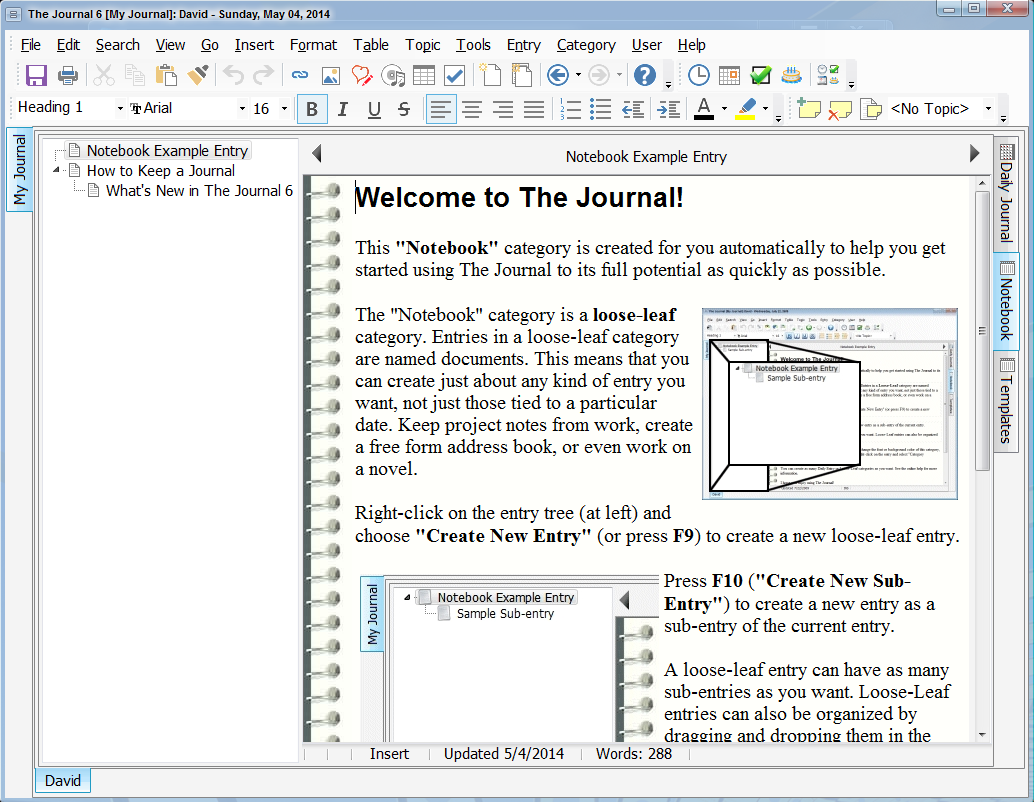 31% Off to Get The Journal to Write, Organize, Remember and Find.