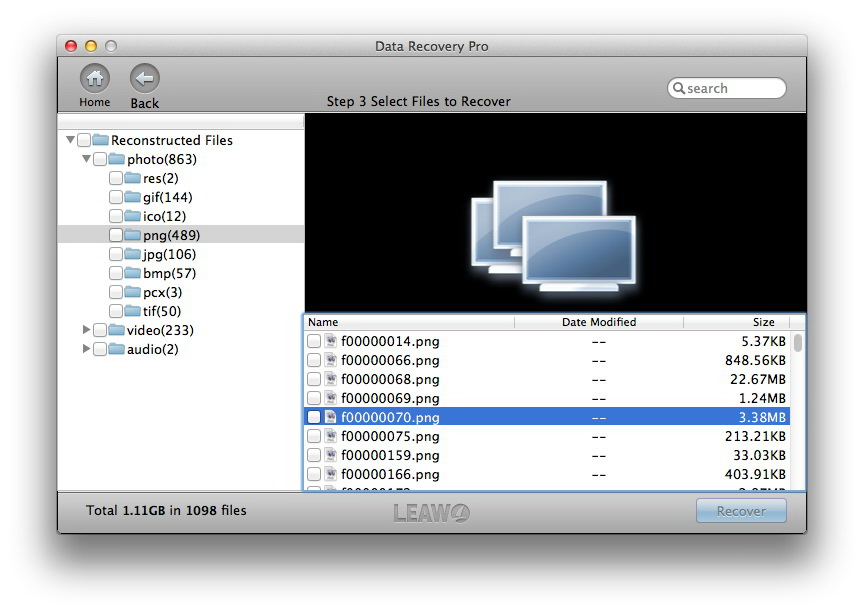 Get Leawo Data Recovery for Mac to Recover Data Lost on Your Mac