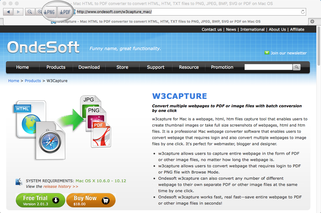 50% Off to Get W3capture to Capture Entire Web Pages as PDF and Image Files