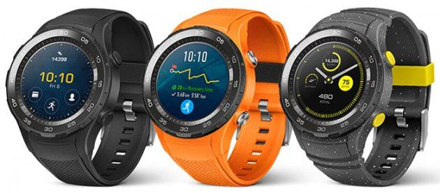 Huawei Watch 2 leaks out in a trio of colours
