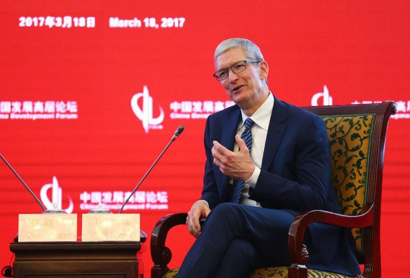 Apple CEO Tim Cook Touts Benefits of Globalization in China Speech