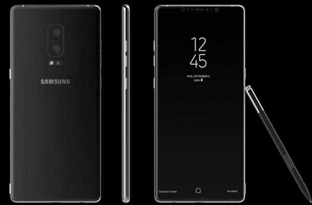Samsung Galaxy Note 8 Design LEAKS With Massive (4K?) Display