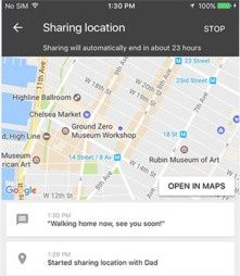 Google launches Trusted Contacts location-sharing app on iOS