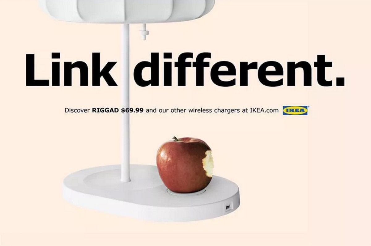 IKEA Launches New Apple-Inspired Ad Campaign for Qi Charging Furniture