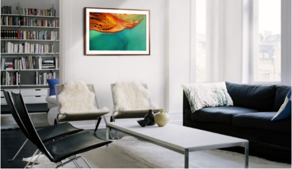 Samsung's 43-inch Frame TV is now available for $1,300
