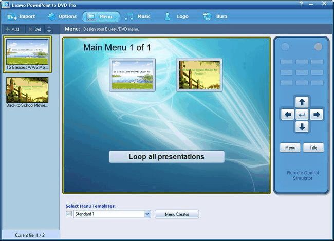 How to play PowerPoint presentation on DVD player