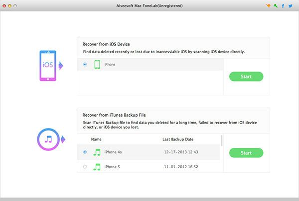 Aiseesoft releases Mac FoneLab, data recovery software for iOS devices