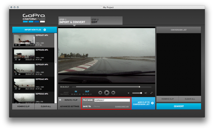 Free and easy editing GoPro HD videos on Windows and Mac