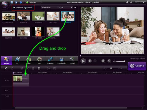 How to combine MP4 videos into one