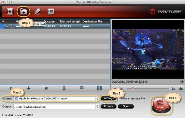 How to import XAVC video to iMovie for free editing