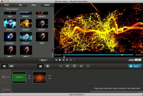 ... on Mac - Free and easy editing HD and SD videos on Windows and Mac