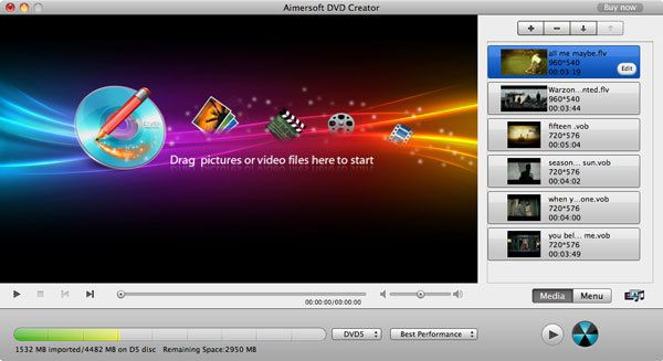How to burn XAVC S video to DVD on Mac and Windows - Free